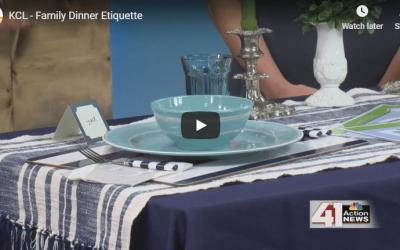 Tips for Involving Children in The Family Dinner on KC Live