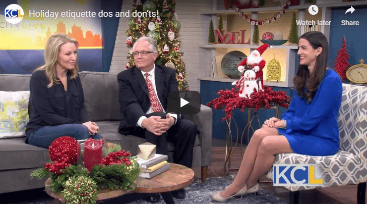 Holiday Party Etiquette on KC Live TV